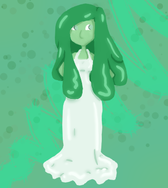 Slime Girl by Cotton-Candy-Fruit