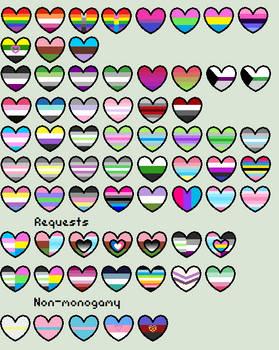 Pride Hearts (Requests OPEN)
