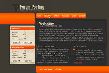 Forum Posting by MyRule