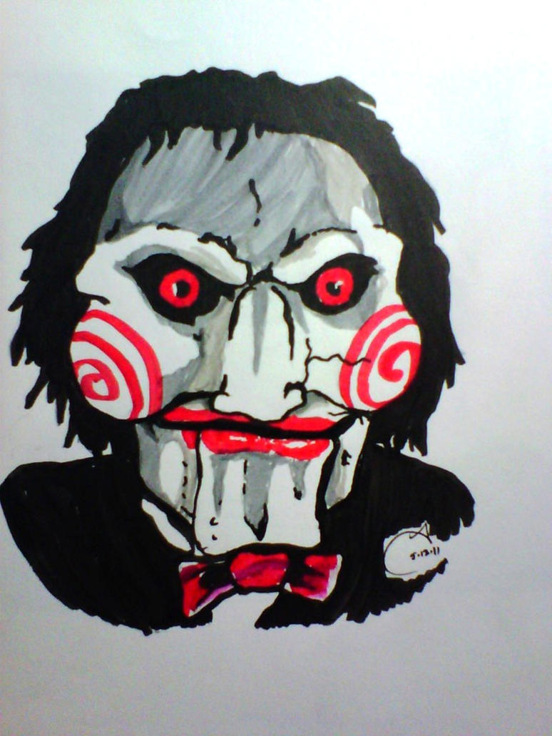 Billy The Puppet-Saw by Tinalbion on DeviantArt