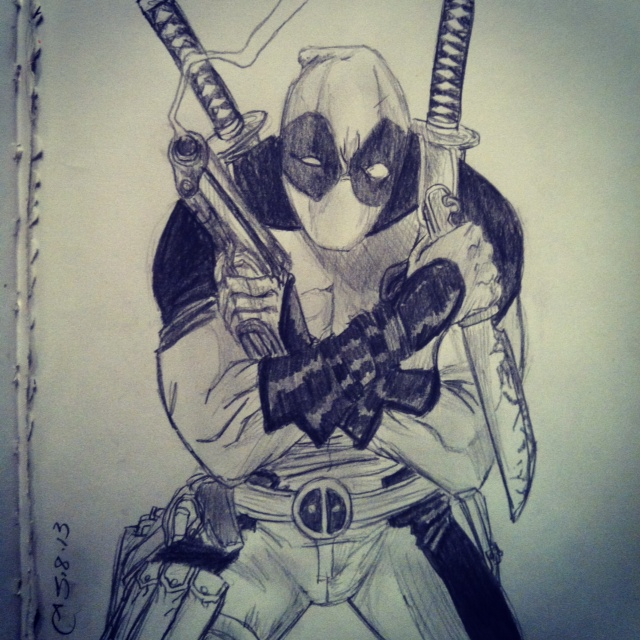 Deadpool by Tinalbion