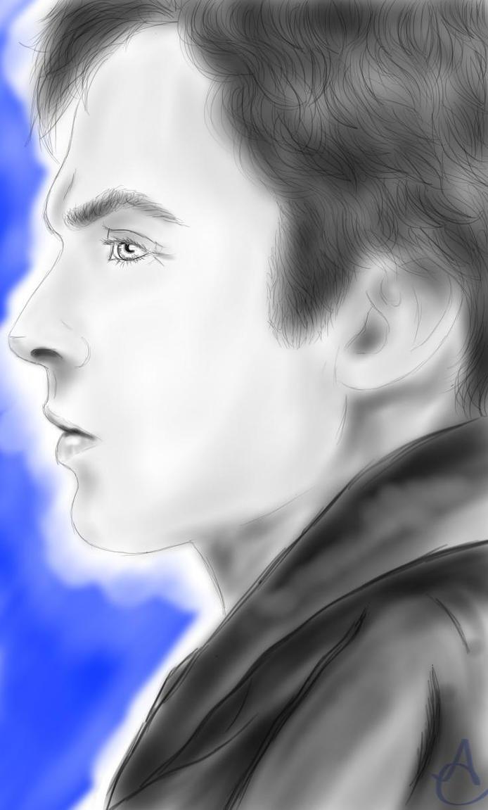 Ian Somerhalder Digital Sketch by Tinalbion