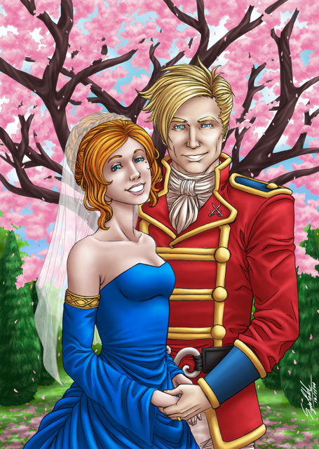 Newly Married Ben and Emira by Tinalbion