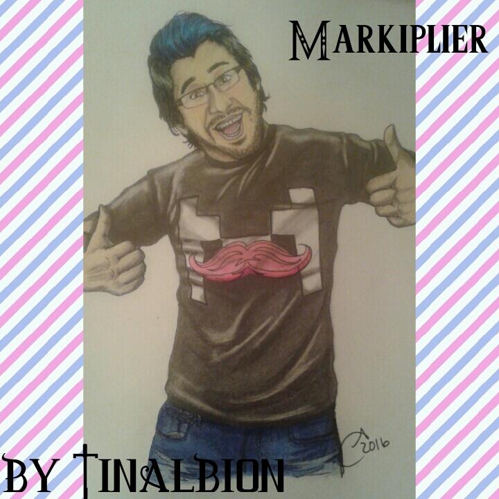 Markiplier FanArt by Tinalbion