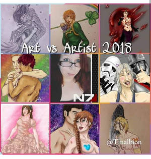 Art Vs Artist 2018 - Tinalbion