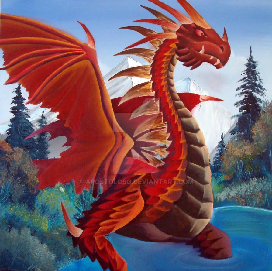 RED DRAGON by ApostolosG