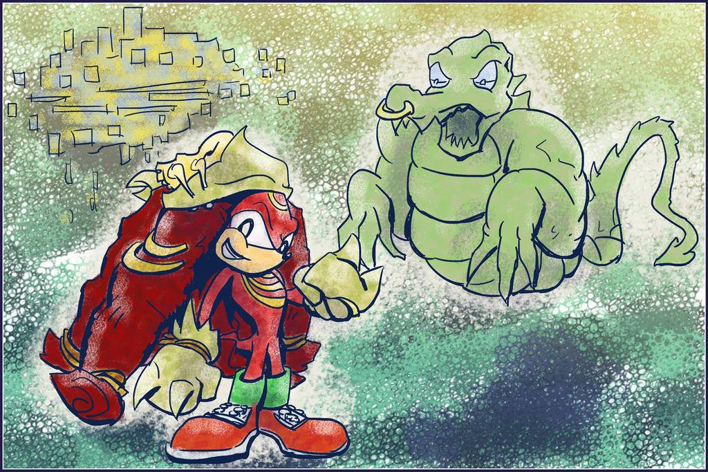 Knux by Saturdaythe13th