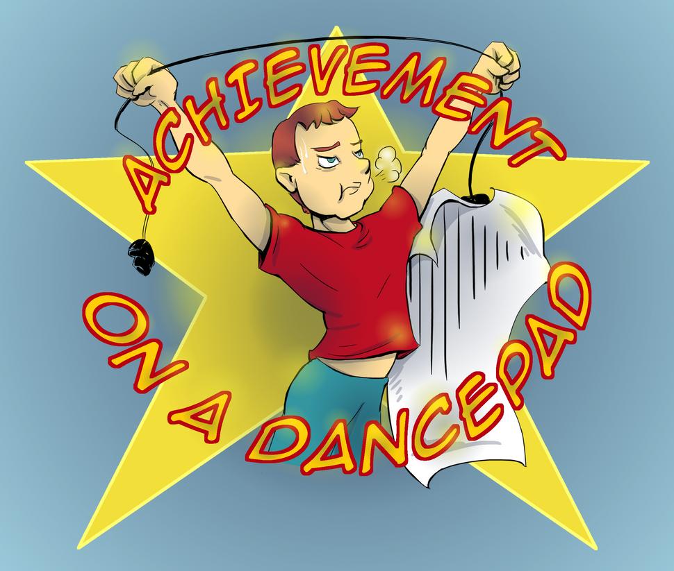 Achievement on a Dancepad by Saturdaythe13th