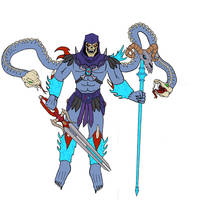 Skeletor and the Soulswords by splaty