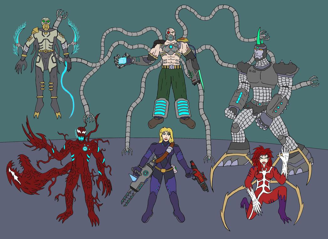 Image Gallery sinister 6 members