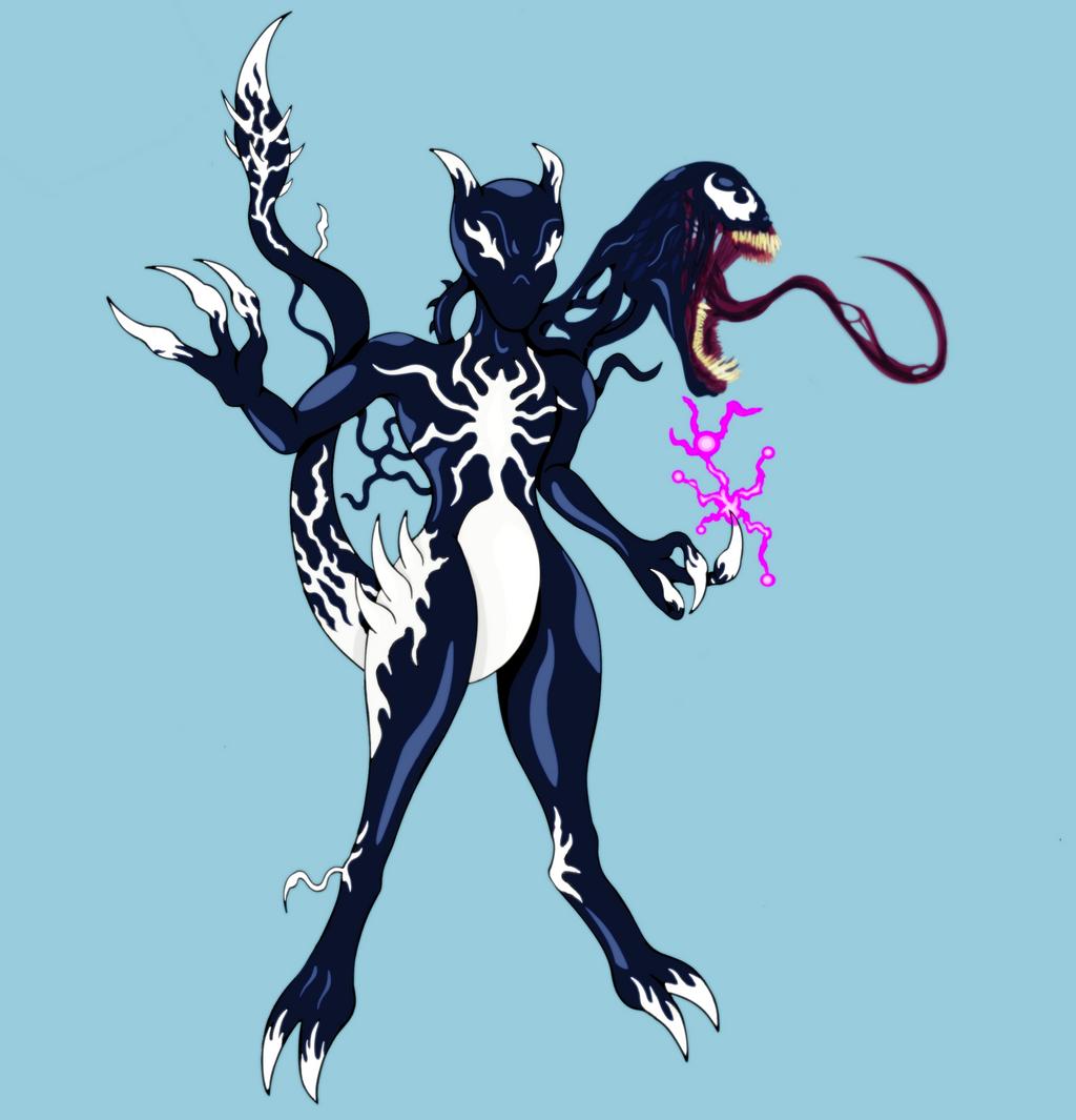 Venom-Mewtwo by splaty on DeviantArt