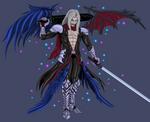 Sephiroth: Sinister Heart by splaty