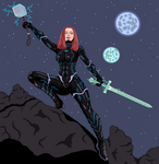 Black Widow: Technarchy Madness!