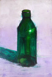 Glass Bottle by douglascampos