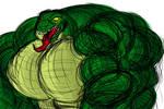 Bigass Muscular Lizard
