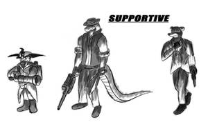 Crash Team Fortress - Supportive by EmotionCreator
