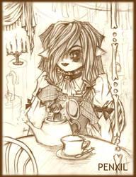 Tea Time by SpiderLady-Hera