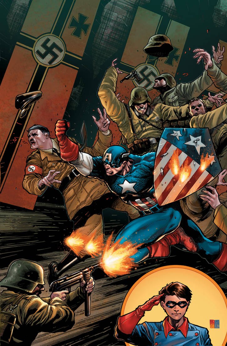 Captain America Cover by BChing