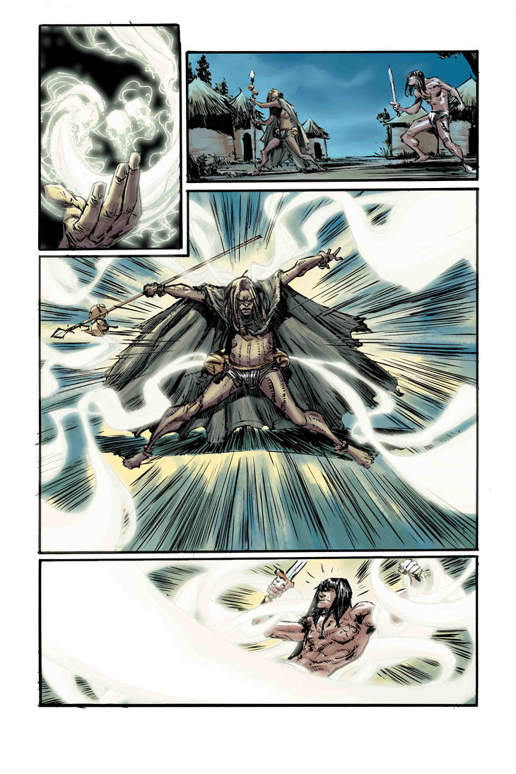 Conan the avenger #2 colors by BChing