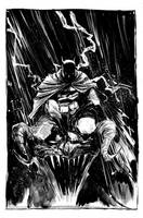 bats b/w by BChing