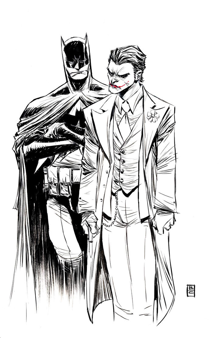 Batman Joker by BChing