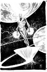 silver surfer by BChing