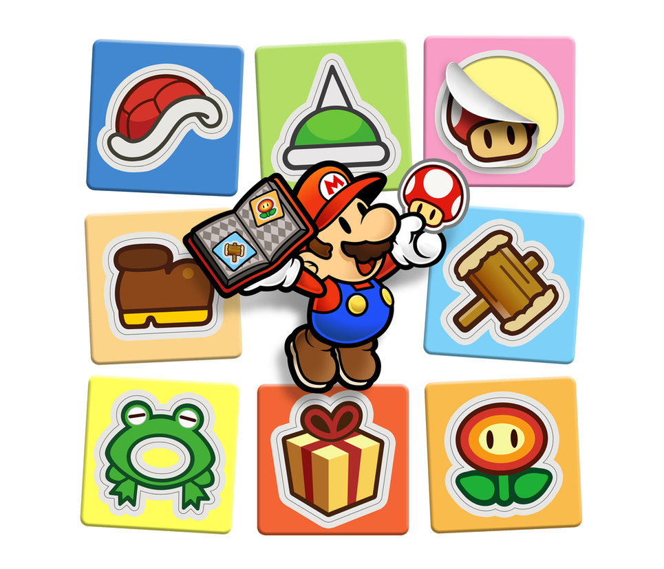 paper mario 3ds wallpaper by painbooster1