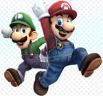 Super Brawl Mario 3D World!
