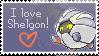Shelgon stamp
