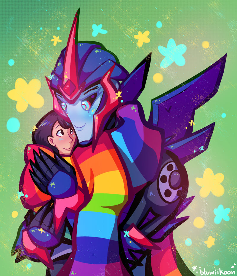 Transformers Prime Arcee And Jack Fanfiction Romance Scarf cuddles by bluwiikoon