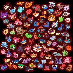 2018-03-17 fave-pokemon by Bluwiikoon