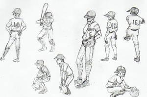 Baseball by Tetsumiro