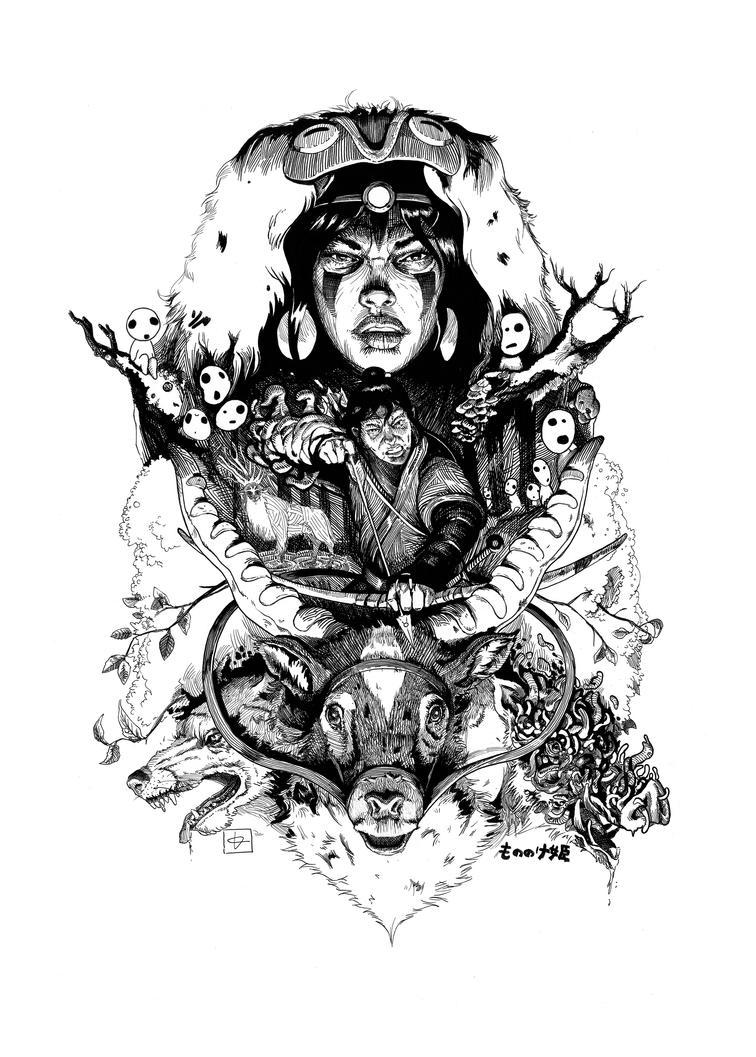 Mononoke by TimothyLlompart