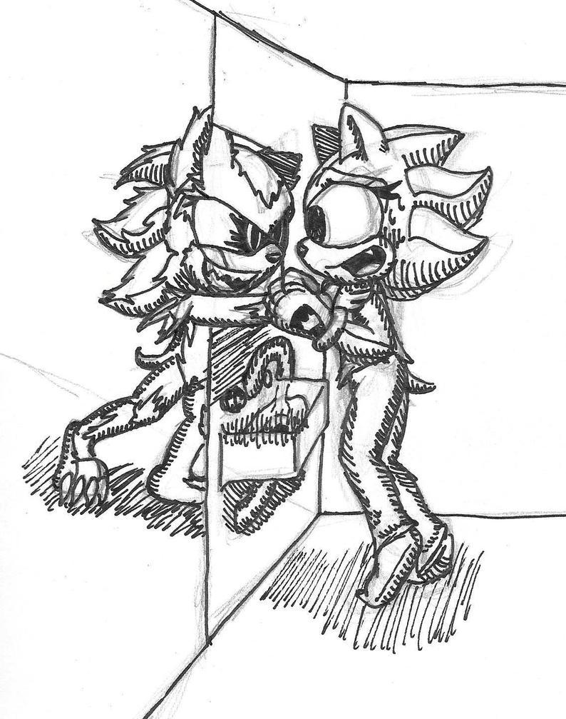 Late Night Through The Mirror by SageHedgehog
