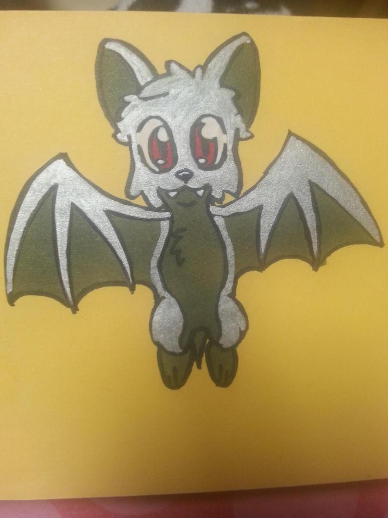 'Lil Silver Bat by SageHedgehog