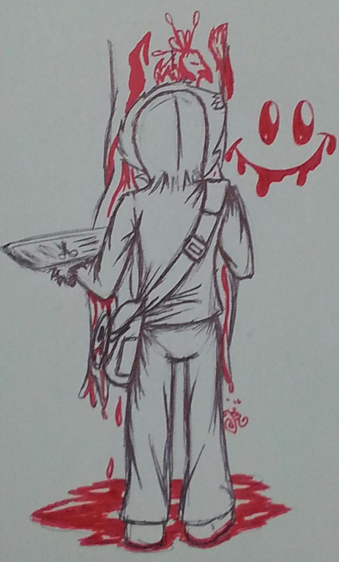 Bloody Painting by SageHedgehog
