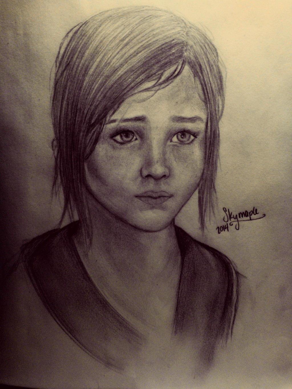 Ellie The Last Of Us Fanart By Skymaple On Deviantart