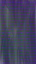 Green Grid Contrasts Indigo by TheKenShow