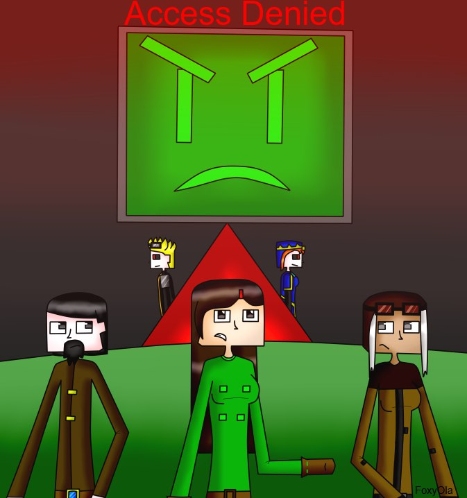 Minecraft Story Mode Access Denied By Foxyola On Deviantart
