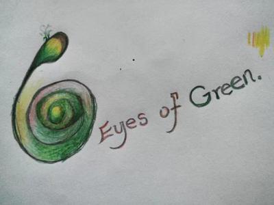 Eye of Green by Ractienadye-YNEZ