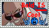 Stamp- Bald is COOL by sushi1382