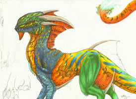 my avatar creature by atrafeathers