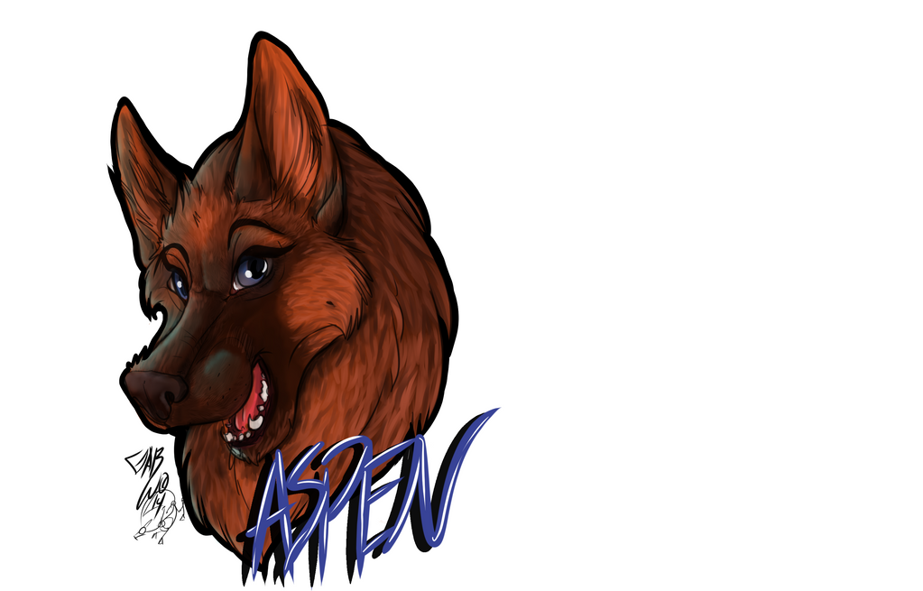 GSD Badge by atrafeathers