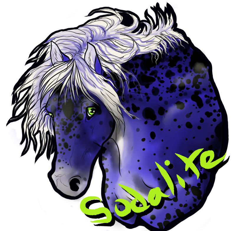 Sodalite Badge commission by atrafeathers