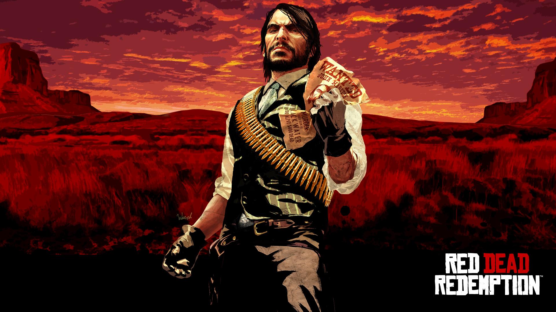 Red Dead Redemption John Marston Wallpaper by thetruemask on ...