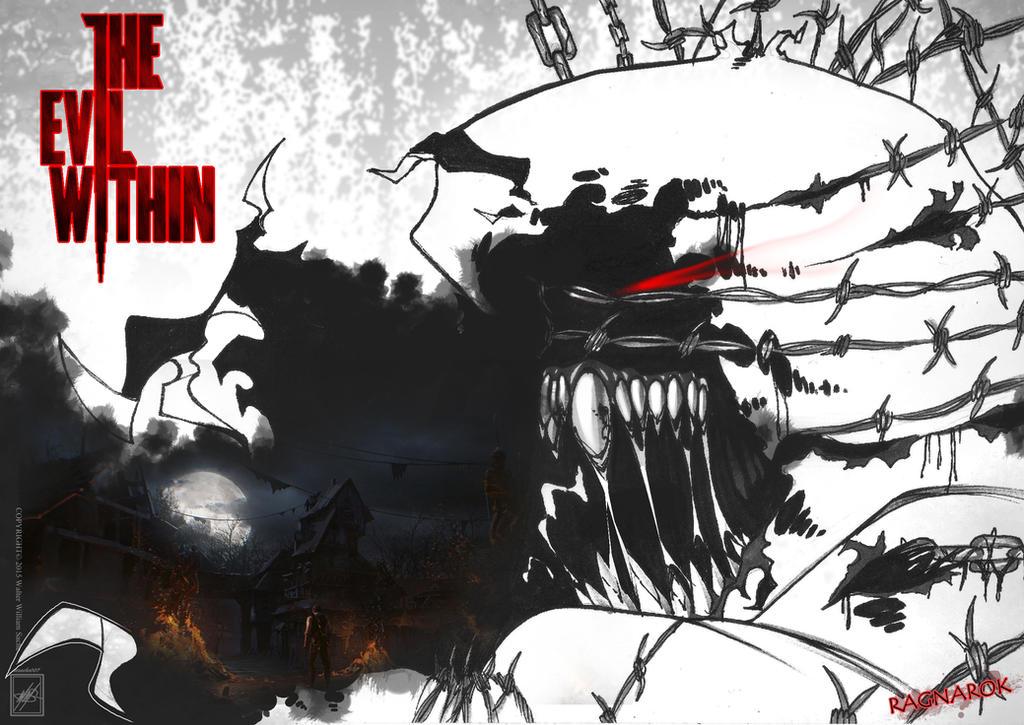 The Evil Within Fan Fiction Ragnarok Wallpaper By Wsache2020