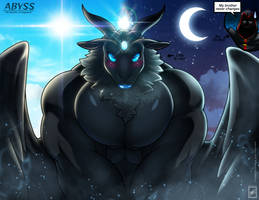 Shy Demon Goat Abyss_complete by wsache2020