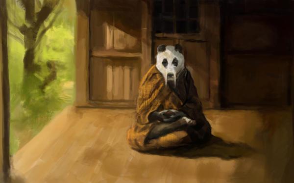 Monje panda by Fabianparente
