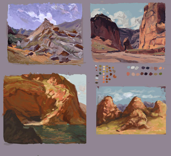 Payne studies by Fabianparente
