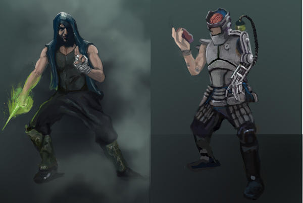 Character concepts by Fabianparente